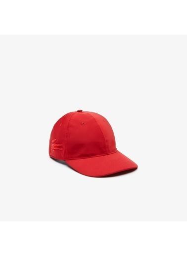 Lacoste Unisex Fashion Show Timsah Şapka RK6761.240 Kırmızı